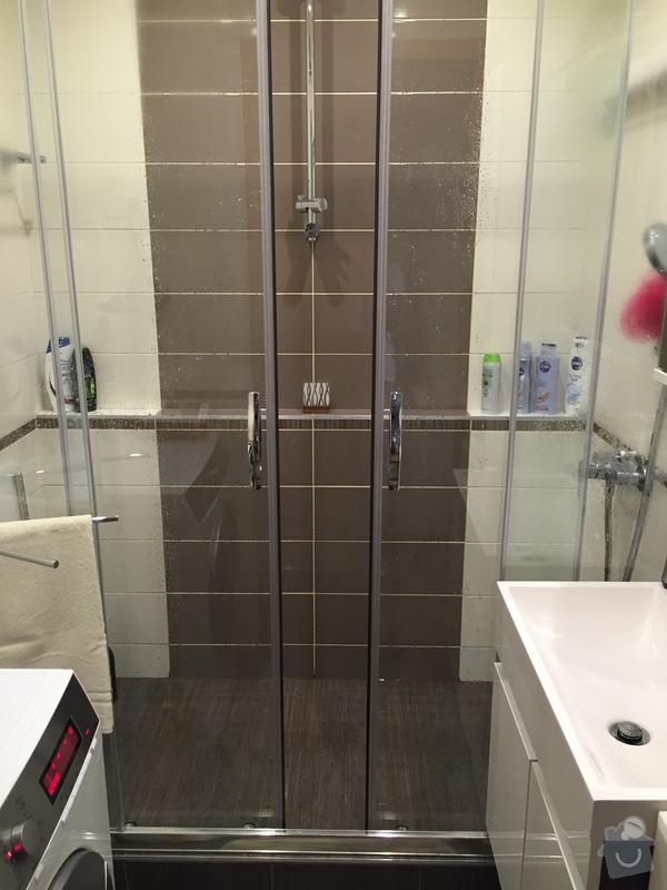 2016 Rekonstrukce koupelny a WC Praha 3