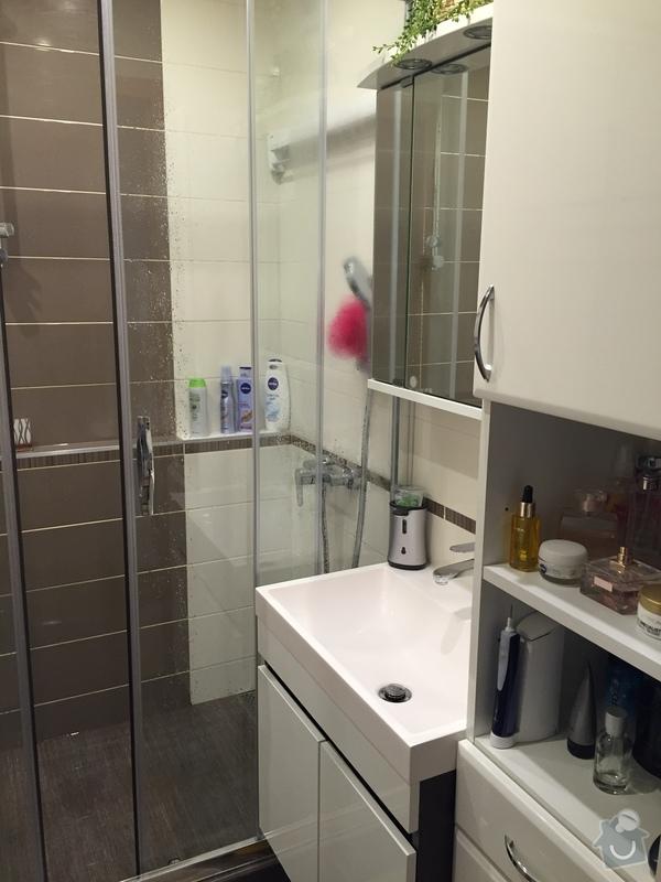 2016 Rekonstrukce koupelny a WC Praha 4
