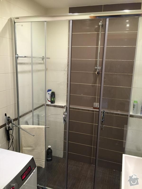 2016 Rekonstrukce koupelny a WC Praha