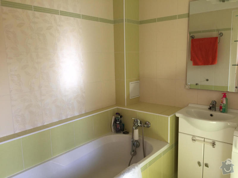 2016 Rekonstrukce koupelny Praha Nusle