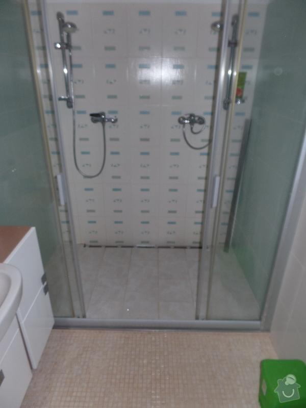2016 Rekonstrukce koupelny Praha - Písnice