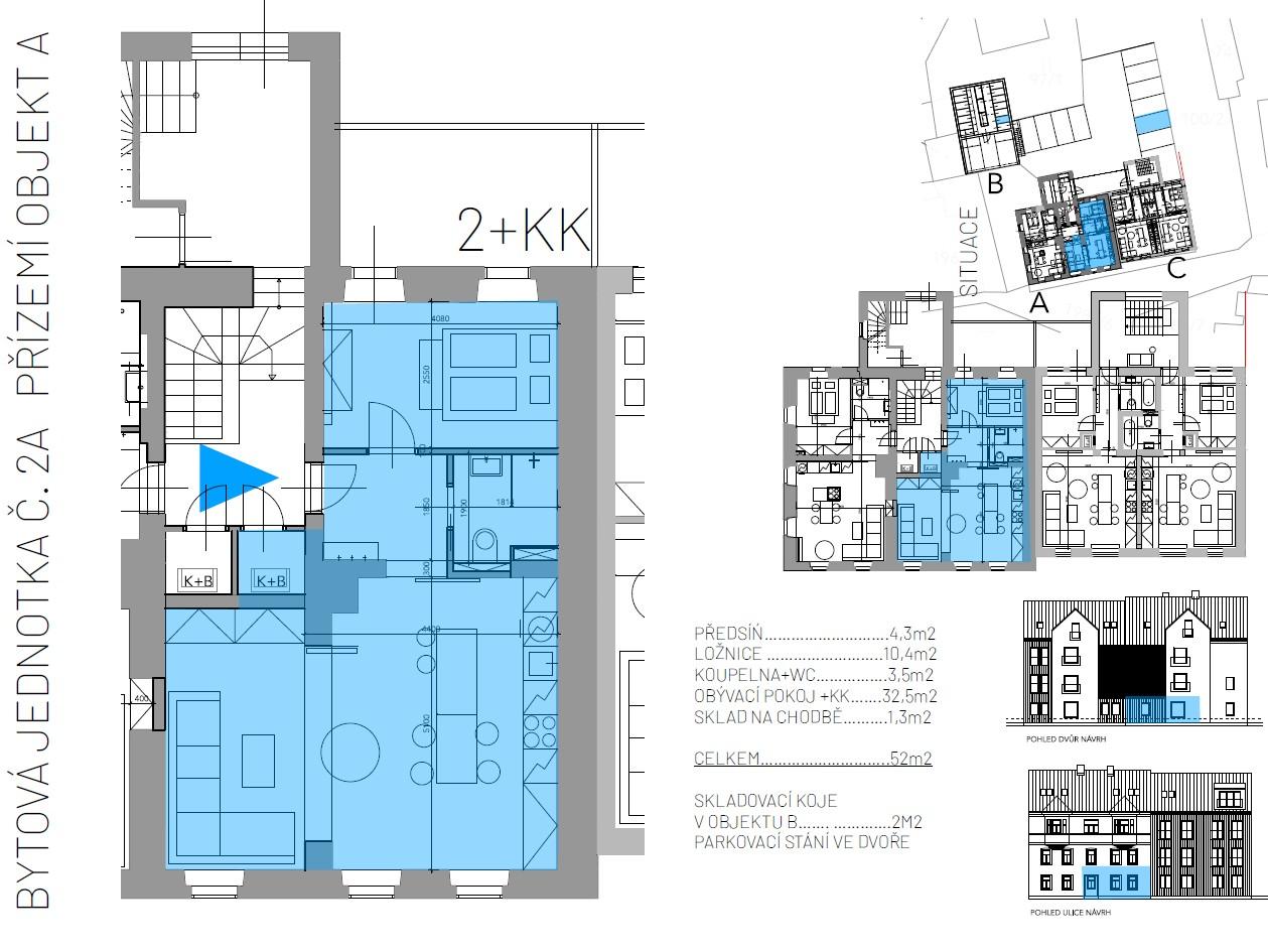 Abertamy - centrum - projekt 5