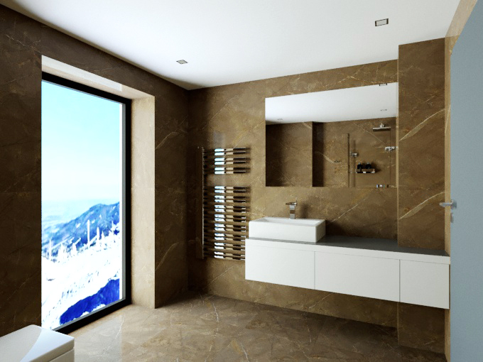 Boží dar - vizualizace koupelny 3