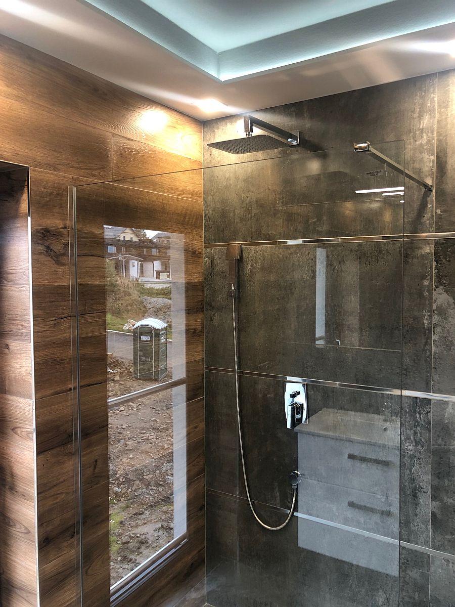 Byty Boží Dar - sprchový kout