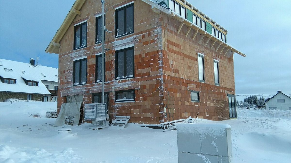 Byty Boží Dar - okna jsou namontovaná 3