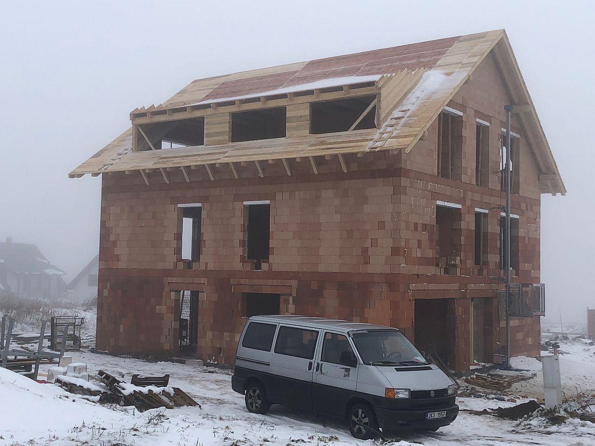 Byty Boží Dar - Střecha