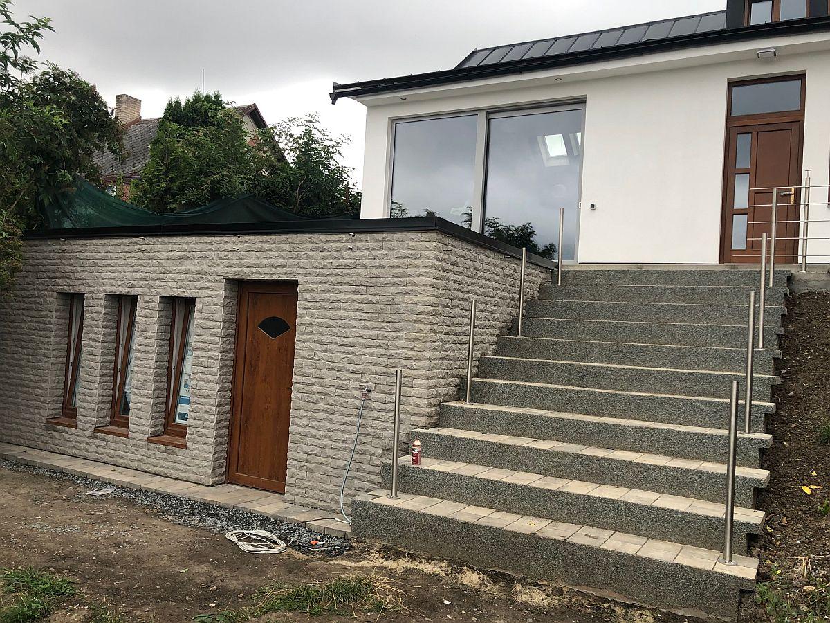 Dostavba domu Praha - dokončení