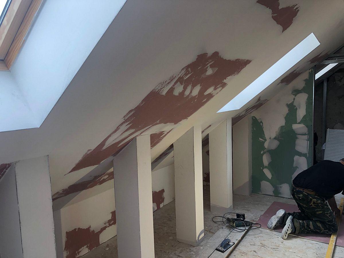 Dokončení interiéru podkroví
