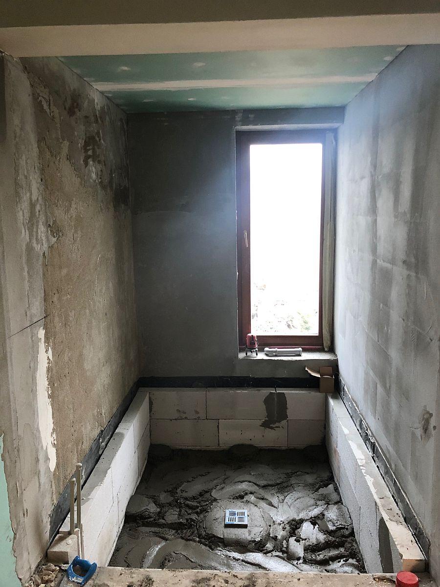 Podlaha koupelny