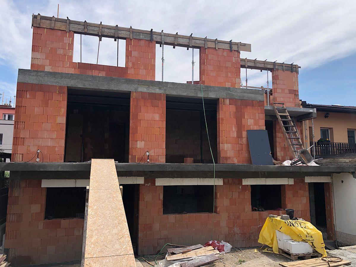 Výstavba 3. patra