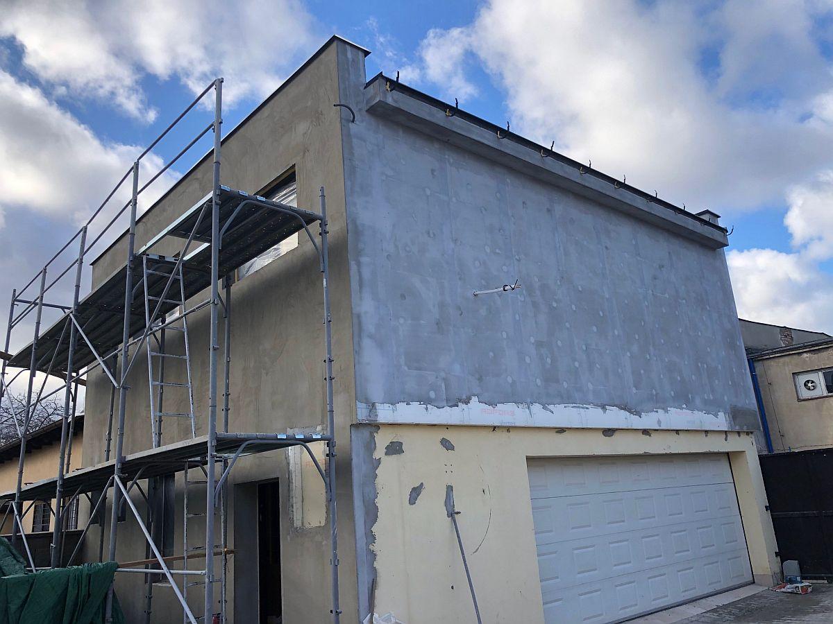 Dokončení garáže