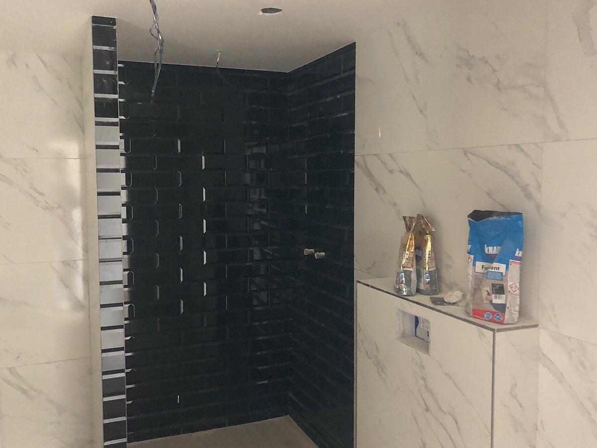 Obklady sprchového koutu