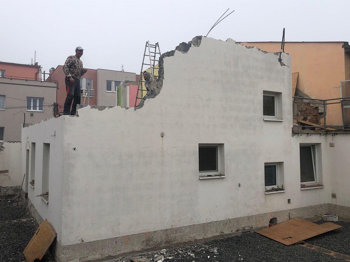 Demolice stávajícího domu