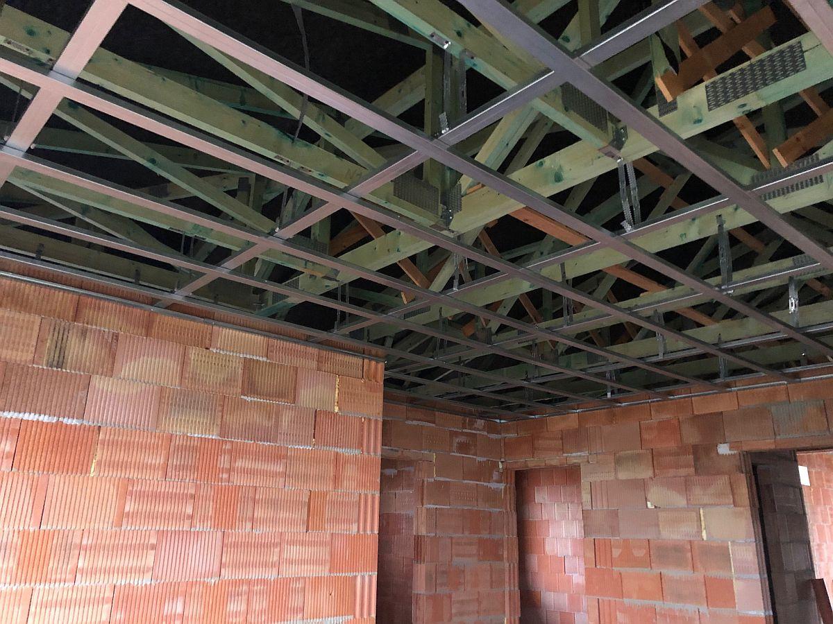 Konstrukce stropních podhledů
