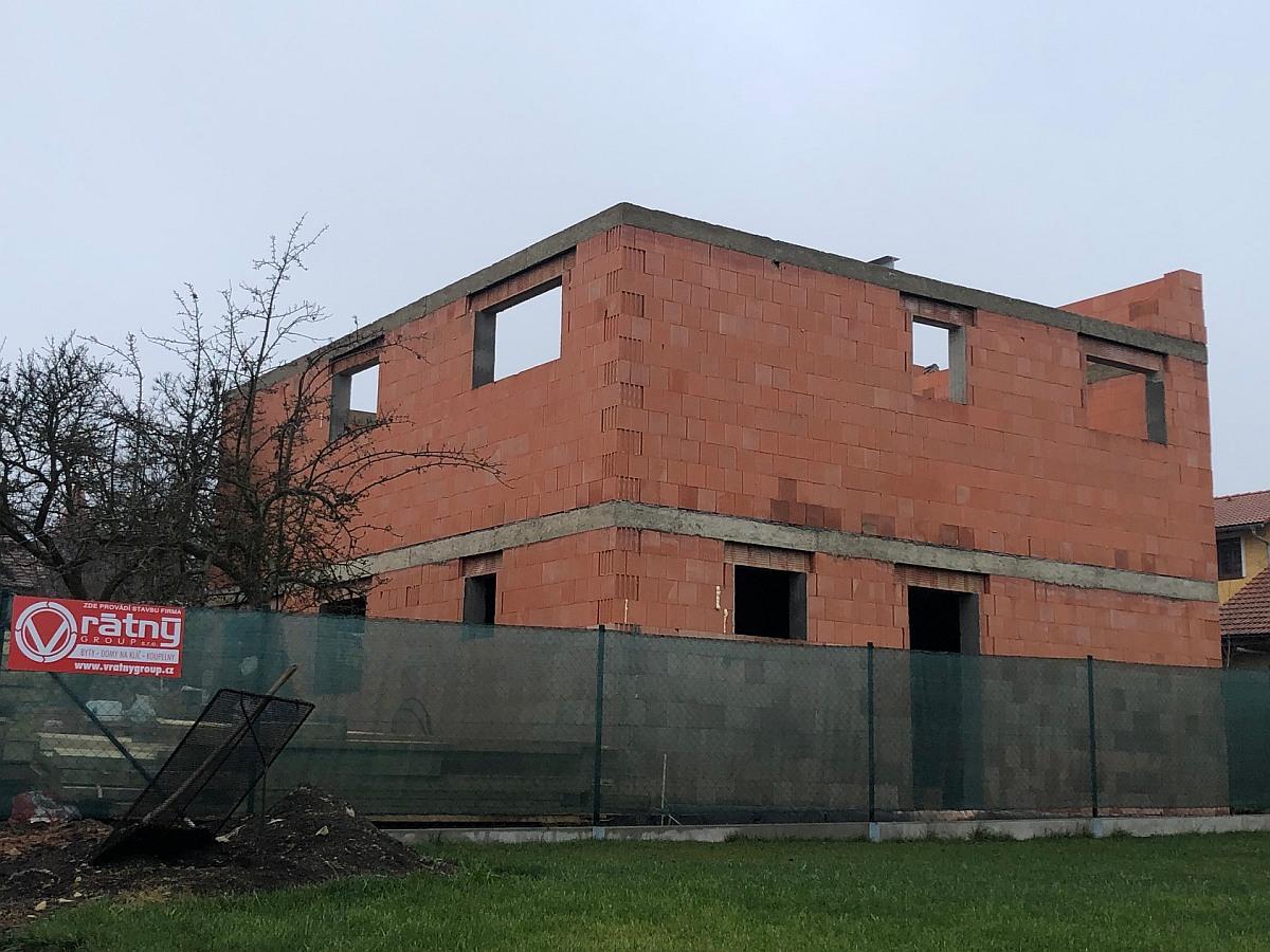 Hrubá stavba - 2. podlaží