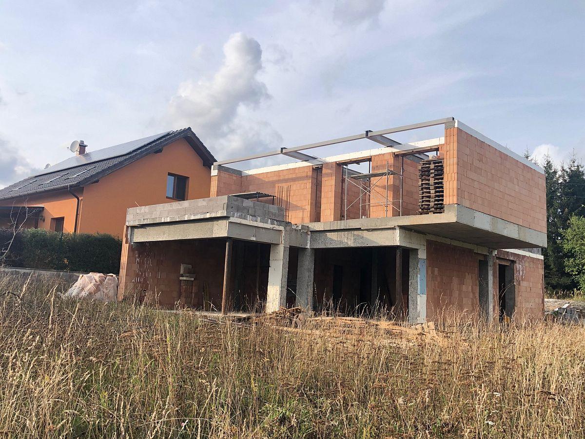 Hrubá stavba - konstrukce střechy