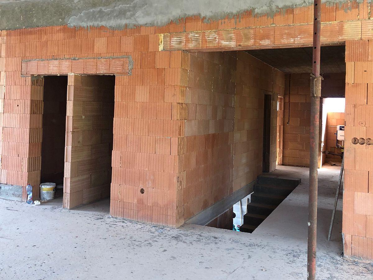 Hrubá stavba - interiér