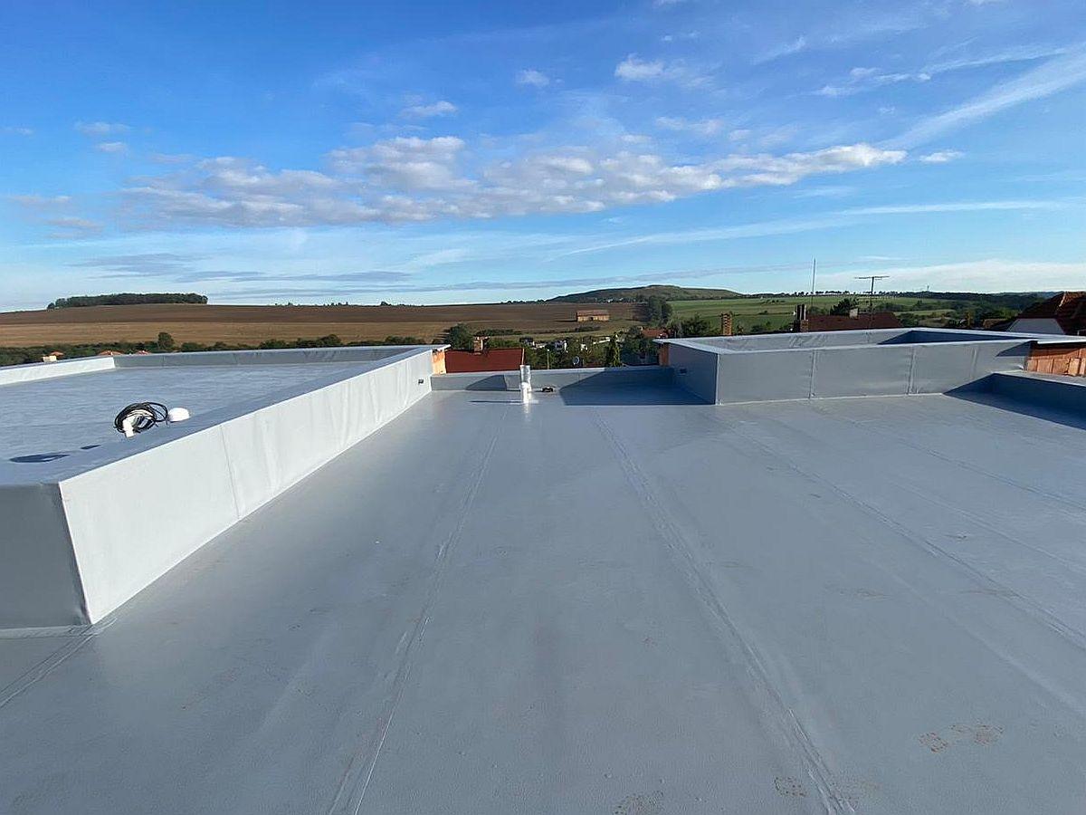 Hotová střecha