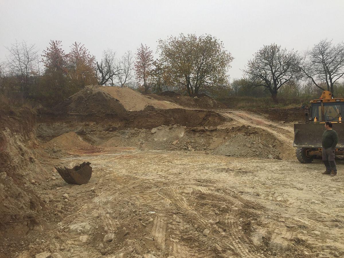 Dokončení přípravy pozemku