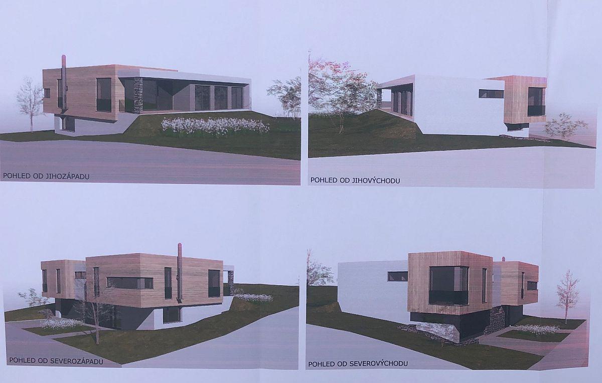Vizualizace domu na klíč v Úholičkách