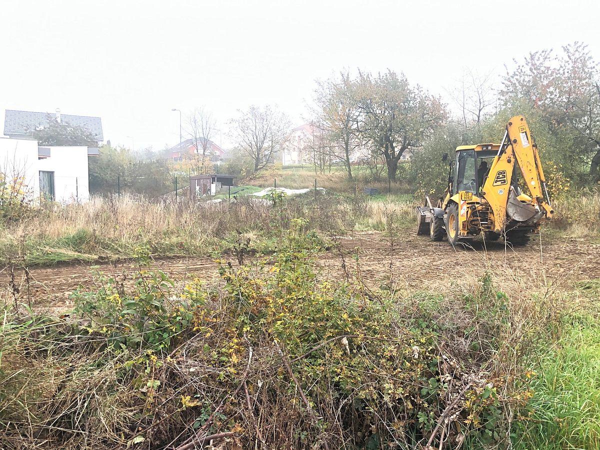 Pozemní práce v říjnu 2019