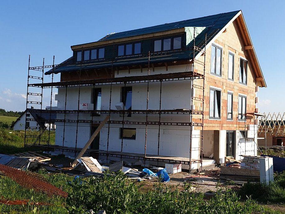 Kompletní střecha, zateplení fasády 3