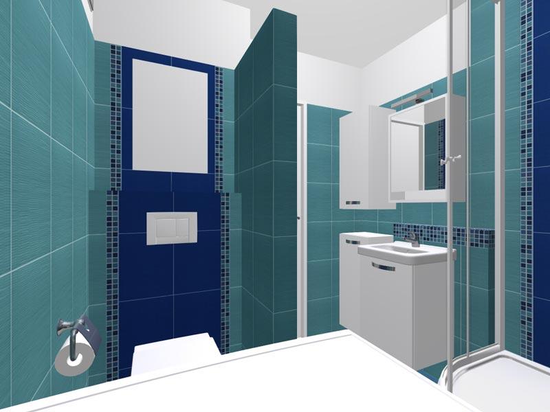 Rekonstrukce bytového jádra - 3D vizualizace