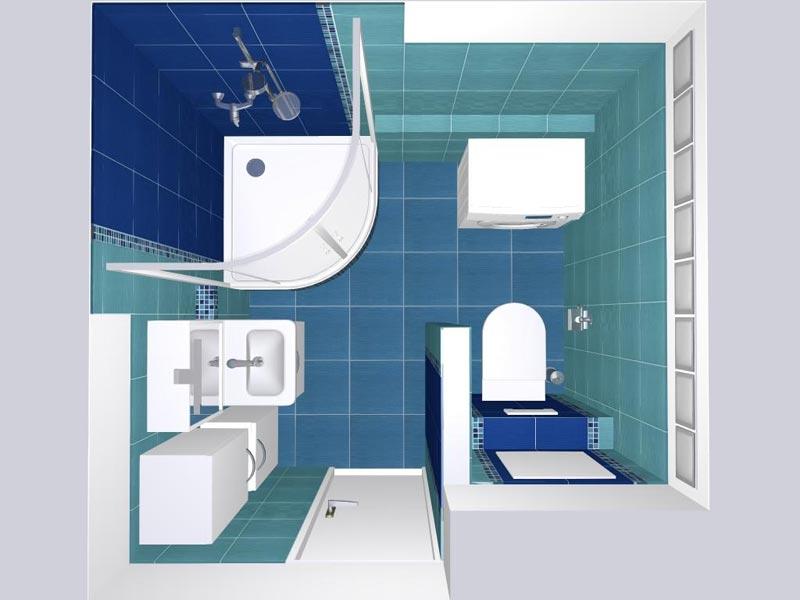 Koupelny - 3D vizualizace 4