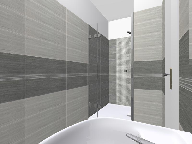Koupelny - 3D vizualizace 5