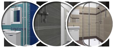 3D vizualizace / Koupelny - 3D vizualizace