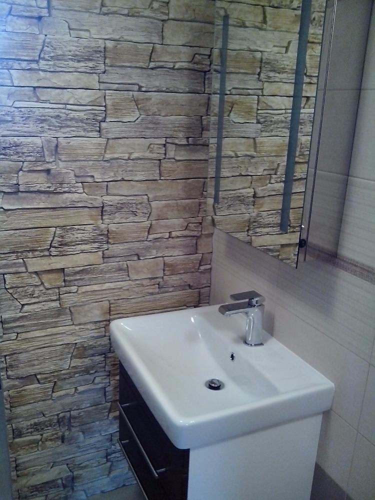rekonstrukce koupelny / Koupelny - obložení