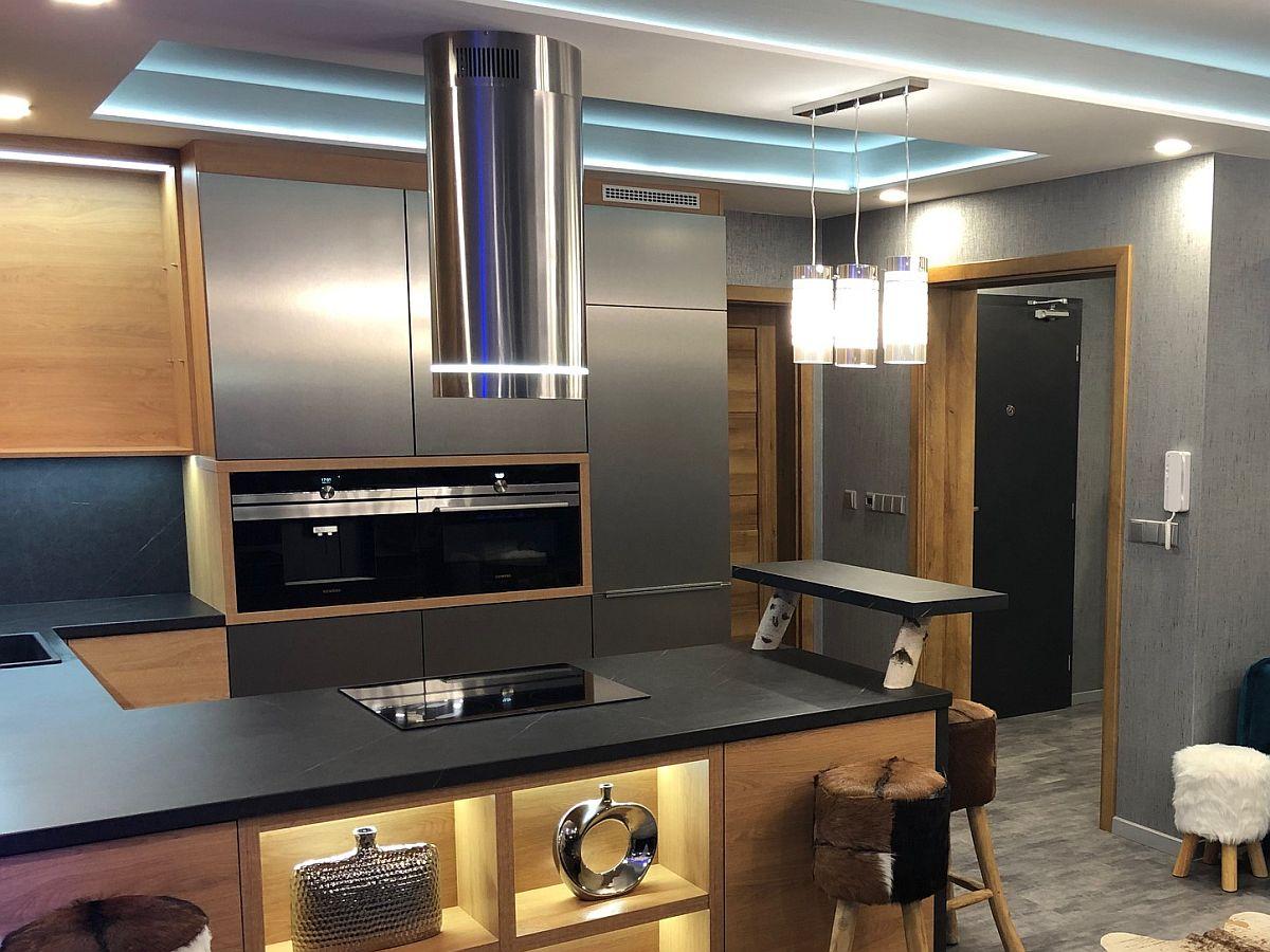 Luxusní byt 3kk na Božím Daru - kuchyňský kout