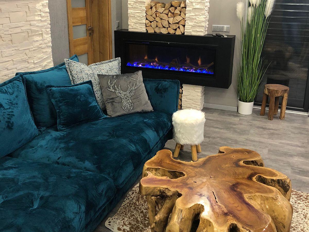 Luxusní byt 3kk na Božím Daru - krb