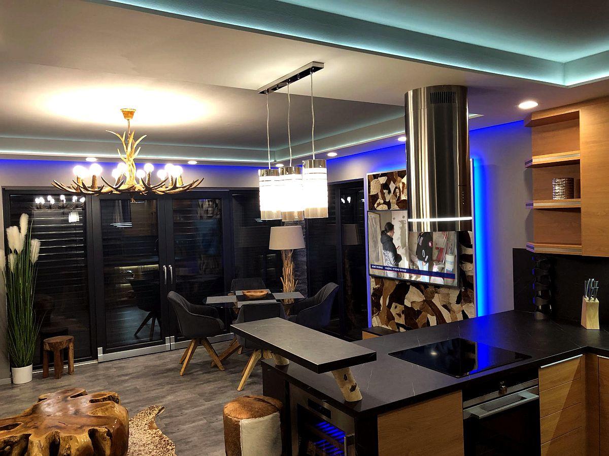 Luxusní byt 3kk na Božím Daru - sporák