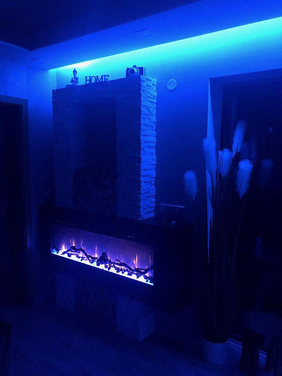Noční osvětlení bytu