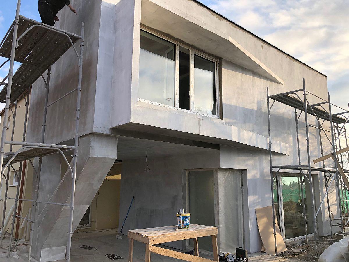 Zahájení fasády