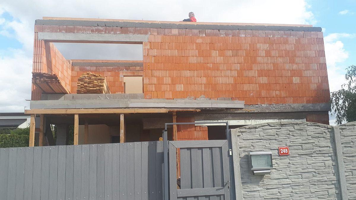 Přístavba domu Ptice - září 2019