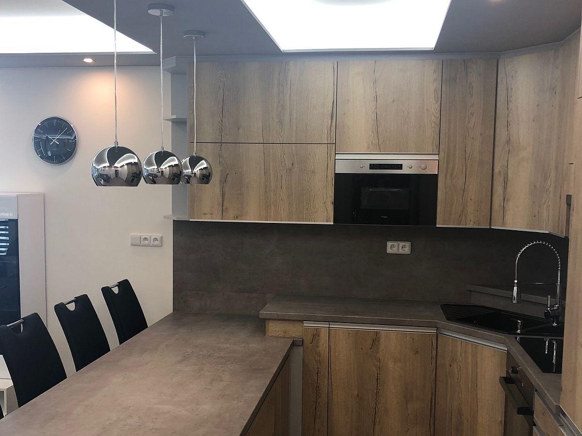 Realiazce bytu v Rakovníku - kuchyňský kout