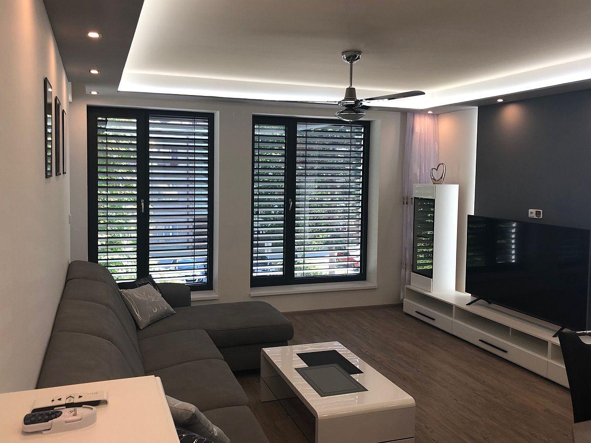 Realiazce bytu vRakovníku - obývací pokoj 3