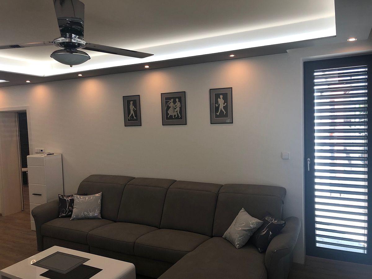 Realiazce bytu v Rakovníku - obývací pokoj 5