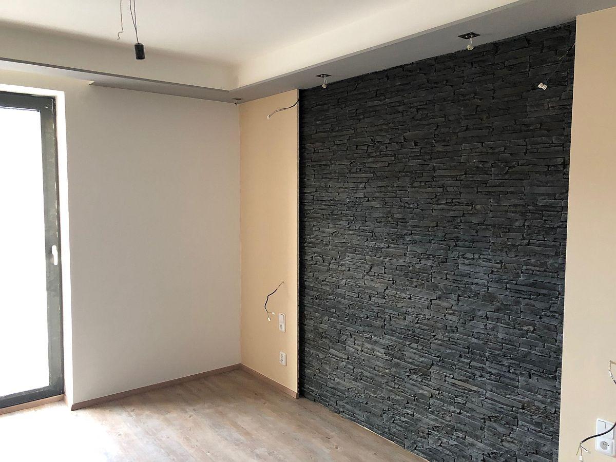 Realiazce bytu v Rakovníku - obývací pokoj