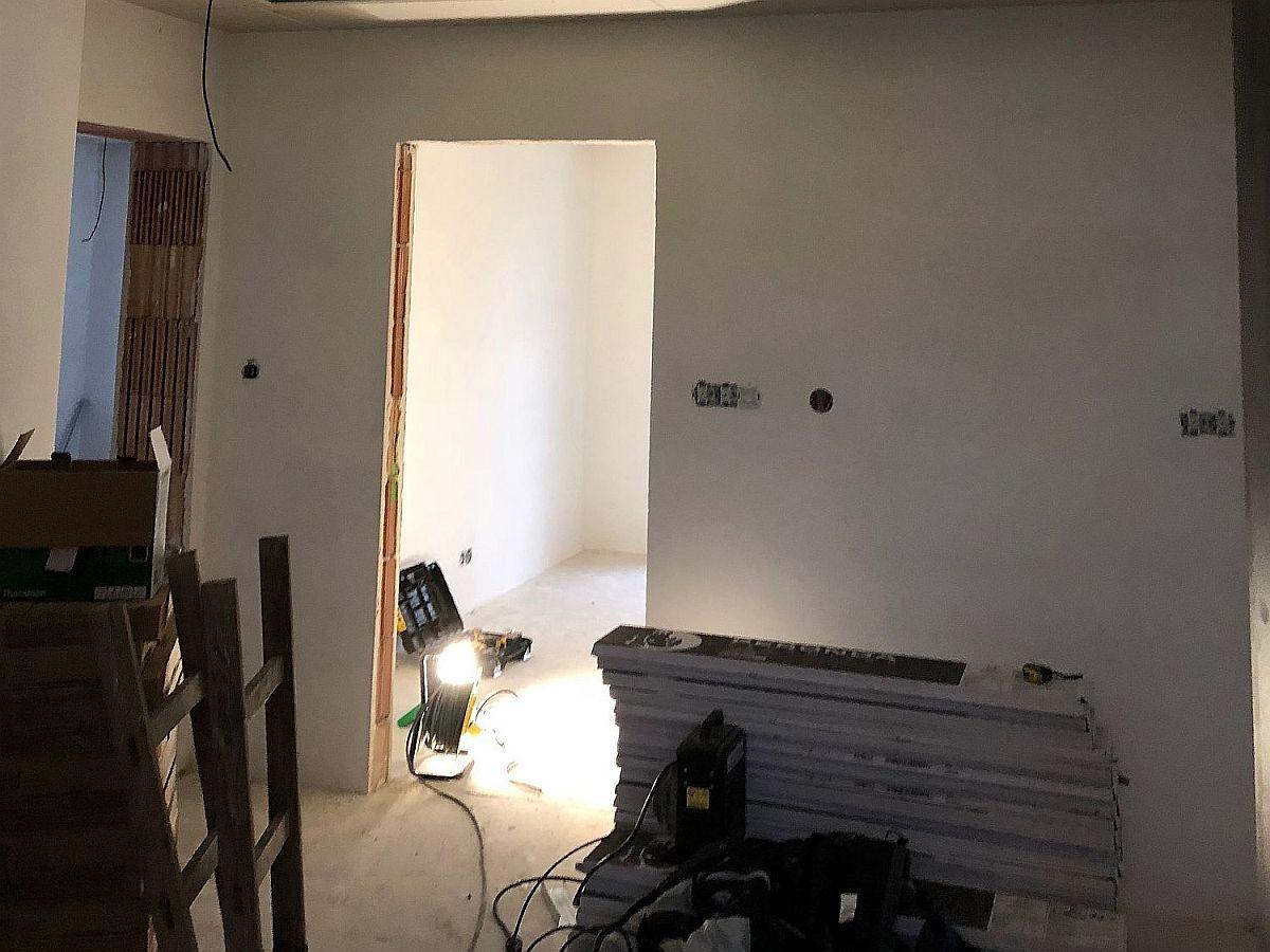 Realiazce bytu v Rakovníku - vnitřní práce 4