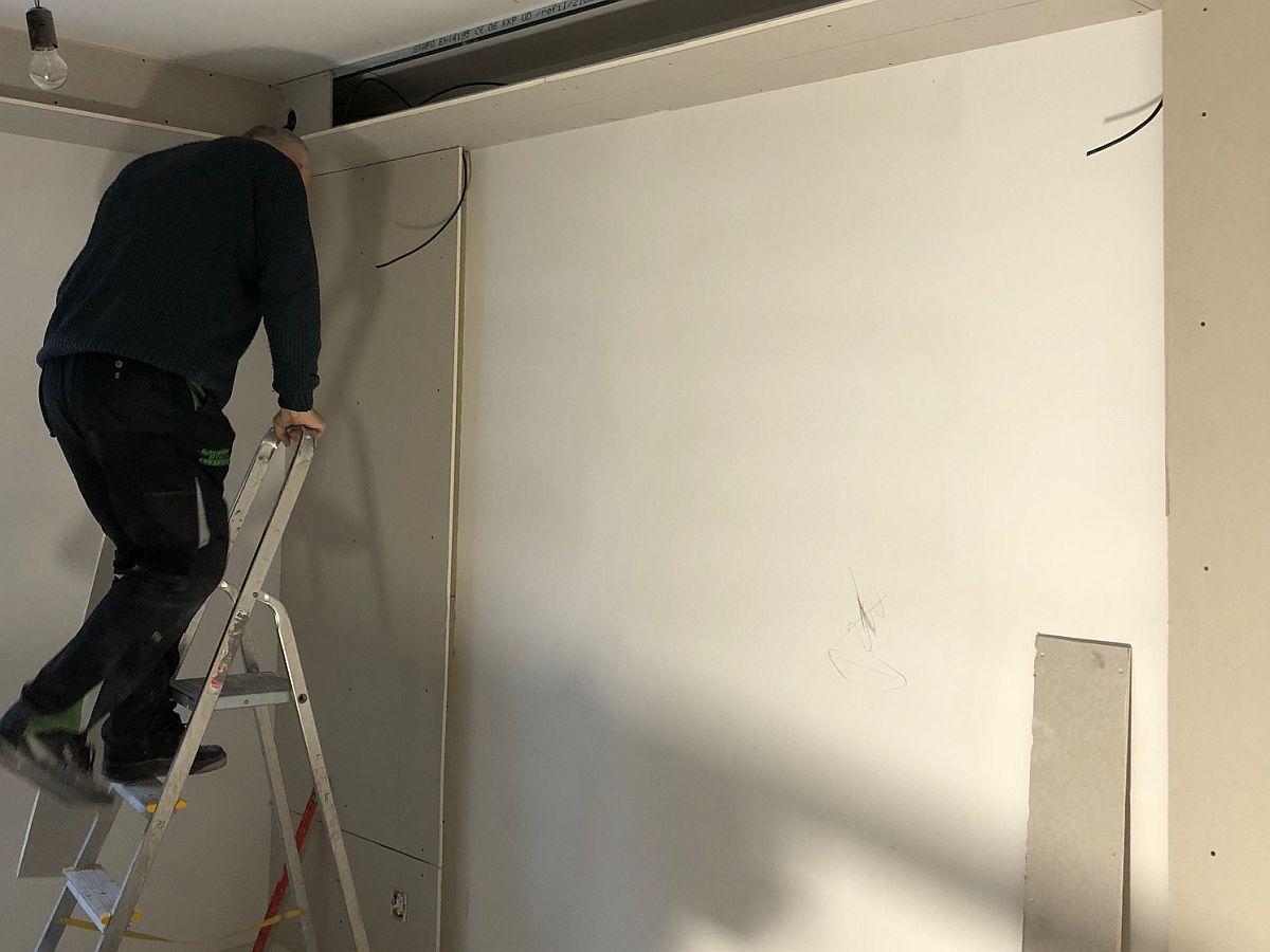 Realiazce bytu v Rakovníku - vnitřní práce 5