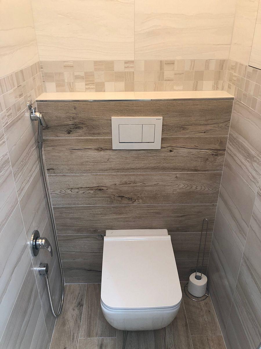 Realiazce bytu v Rakovníku - WC