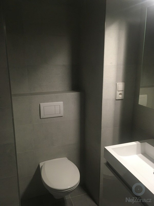 Rekonstrukce bytu 1+kk Jesenice u Prahy - po rekonstrukci 2