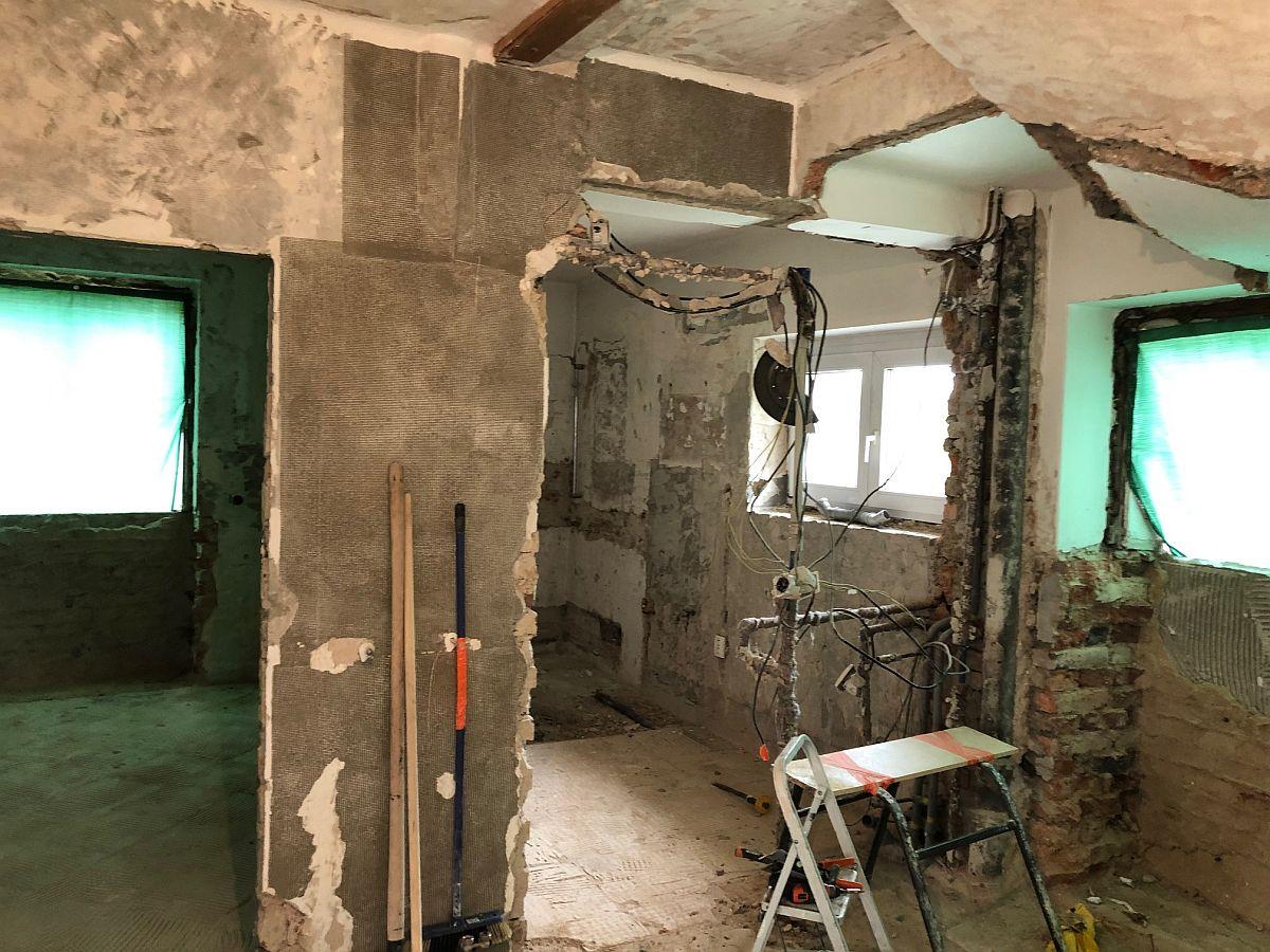 Stavební úpravy v interiéru