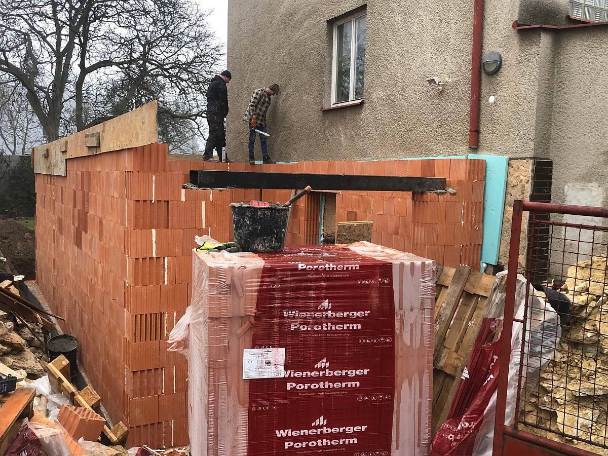 Přístavba domu