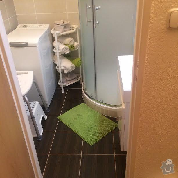 Rekonstrukce koupelny v panelovém bytě 2+1 3