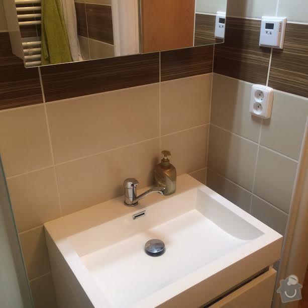 Rekonstrukce koupelny v panelovém bytě 2+1 4