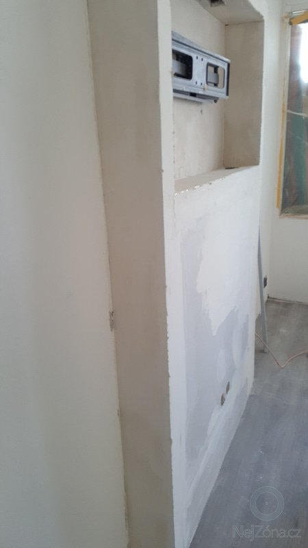 Rekonstrukce panelového bytu 3+kk Praha 2017 - po 2
